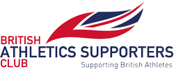 British Athletics Supporters Club logo