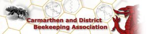 Carmarthen and District Beekeeping Association logo
