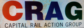 Capital Rail Action Group logo