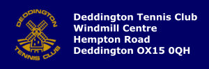 Deddington Tennis Club logo