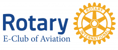 Rotary E-Club of Aviation logo