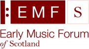 Early Music Forum of Scotland logo