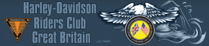 Harley Davidson Riders Club of Great Britain logo
