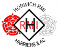 Horwich RMI Harriers & Athletics Club logo