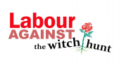 Labour Against the Witchhunt logo
