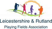 Leicestershire and Rutland Playing Fields Association logo