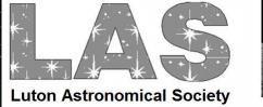 Luton Astronomical Society logo