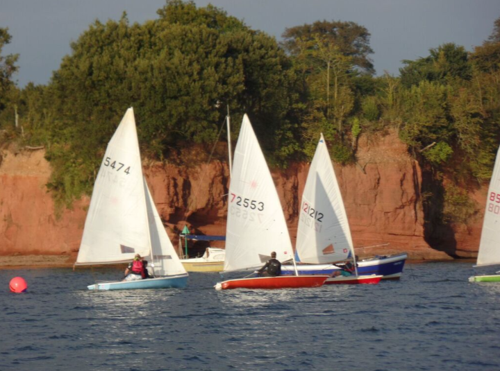 Sailing on the Exe Lympstone Sailing Club