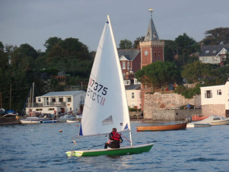 Sailing on the Exe with Lympstone Sailing Club
