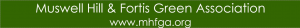 Muswell Hill and Fortis Green Association logo
