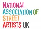 National Association of Street Artists UK logo