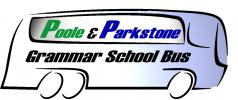 Poole & Parkstone Grammar School Bus Verwood/West Moors/Ferndown logo