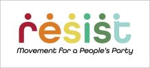 Resist: Movement for a People's Party logo