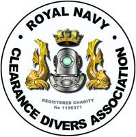 The Royal Navy Clearance Divers Association logo