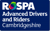 RoSPA Advanced Drivers and Riders Cambridgeshire logo
