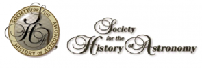 Society for the History of Astronomy logo