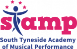 South Tyneside Academy of Musical Performance logo