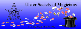 The Ulster Society Of Magicians logo
